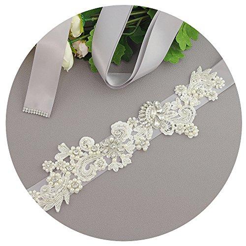 Azalee Da Scuro Sposa Da Fusciacche Il Perle Da Sposa Grigio Cristallo Di Battente Cinture Vestito Cintura Per Colore Sposa rqOS6rwU