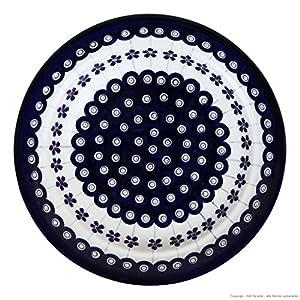 Original Bunzlauer Deep Plate/Pasta Plate ø21.8cm, height: 4.0cm Dekor 166a