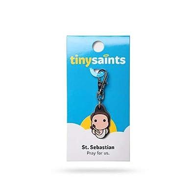 NDC St. Sebastian Tiny Saints Charm: Jewelry [5Bkhe0806024]