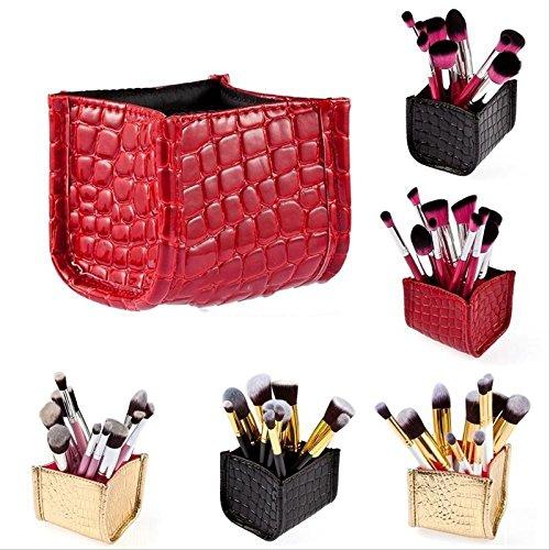 LARARHEE-Makeup Cosmetic Organizer Lipstick Brush Storage Holder Case Stand Bag Box Hot!