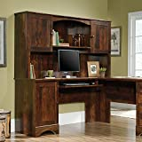 Sauder Harbor View Hutch (does not include desk) in Curado Cherry
