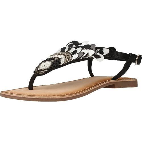 sports shoes a4569 2e30d Gioseppo Sandali e Infradito per Le Donne, Colore Nero ...