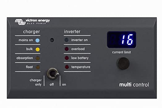 Victron Energy DMC000200010R Digital Multi Control 200 200A GX