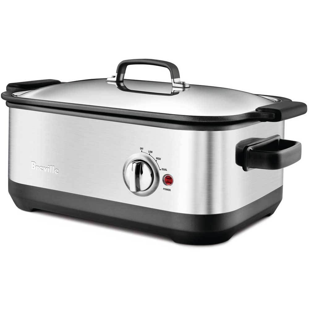 Breville BSC560XL Stainless-Steel 7-Quart Slow Cooker with EasySear Insert by Breville (Image #1)