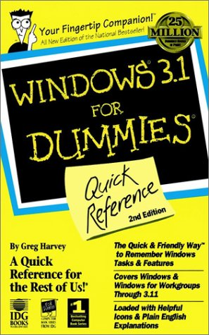 Windows 3.1 For Dummies: Quick Reference
