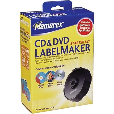 Memorex CD LABELMAKER STARTER KIT 32023968
