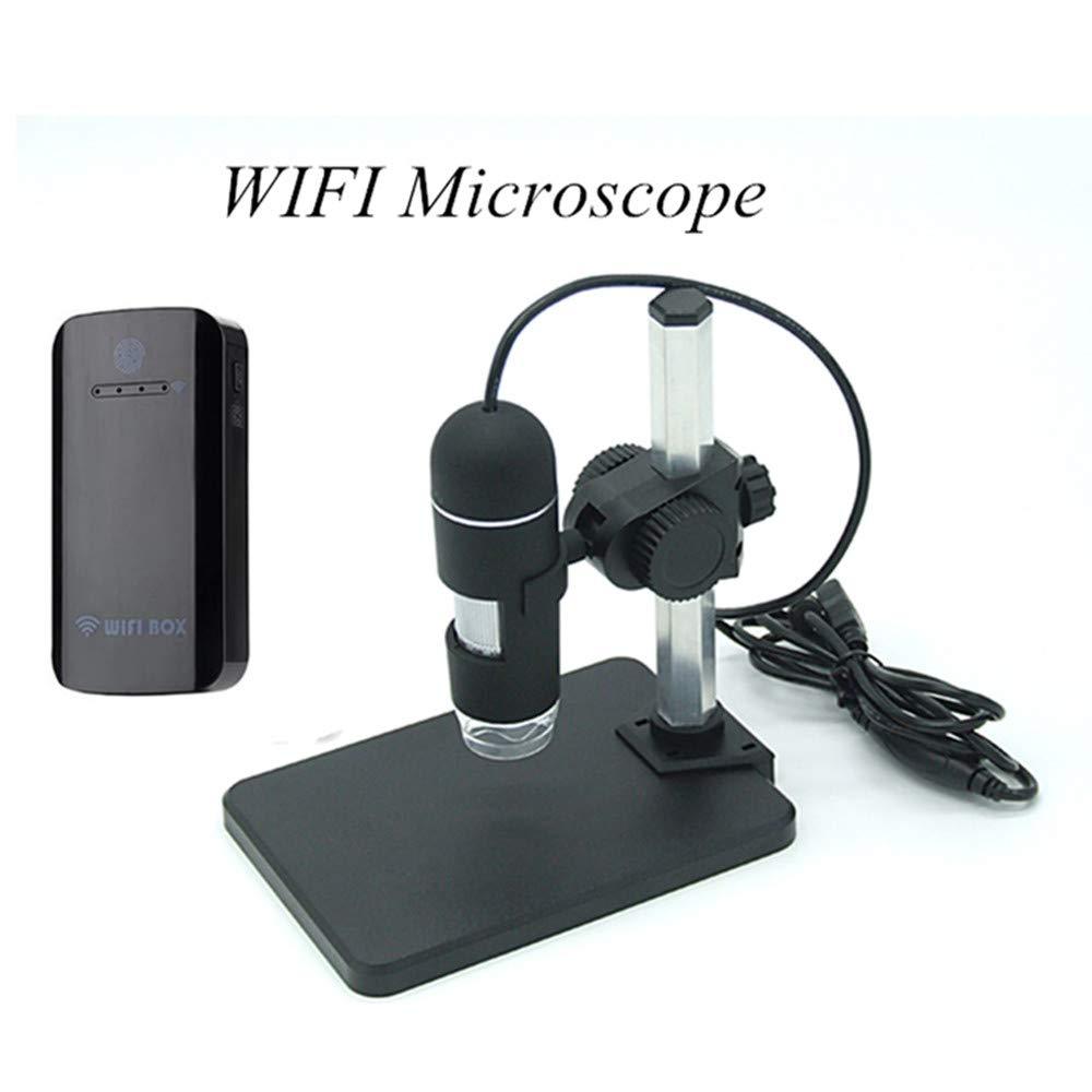 New Landing 1080p Wireless WiFi USB Microscope Zoom1-500x Zoom CMOS Borescope by New Landing