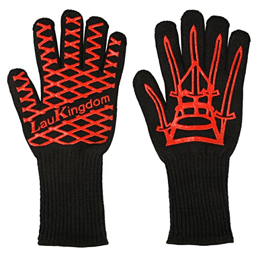 Laukingdom Bbq Grilling Cooking Glove 932 176 F Extreme Heat