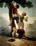 Best Kid Galaxy Laser Tags - The polyster Canvas of oil painting 'Goya y Review