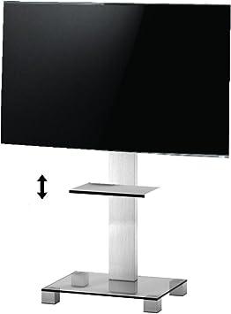 RO&CO - Peana de TV con Estante Ajustable. Alto: 116 cms. Vidrio ...