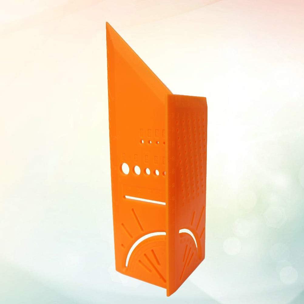 ULTECHNOVO 3D Mitre Angle Mesure R/ègle Place Taille Mesurer Outil Angle Scriber Mesure pour BRICOLAGE Bricoleur Constructeurs Charpentiers