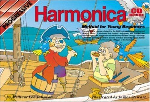 Progressive Harmonica (By Peter Gelling Progressive Harmonica Method for Young Beginners (Progressive Young Beginners) [Paperback])