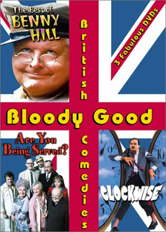 Bloody British Comedies Clockwise Served product image