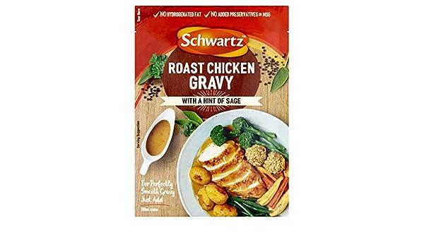 26g Schwartz clásico pollo asado salsa: Amazon.es: Alimentación y bebidas