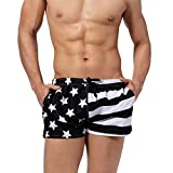 Ussuperstar Men's Casual Quick Dry Boardshorts with