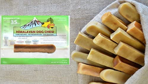 FRESH HIMALAYAN DOG CHEW 12 PACK MEDIUM UNDER 35 POUNDS HEALTHY NATURAL LONG LASTING TREAT