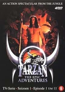 Tarzan: The Epic Adventures - Season 1 (Ep. 1-11) - 4-DVD Box Set ( Tarzan: The Epic Adventures - Season One - Episodes One to Eleven ) [ NON-USA FORMAT, PAL, Reg.2 Import - Netherlands ]