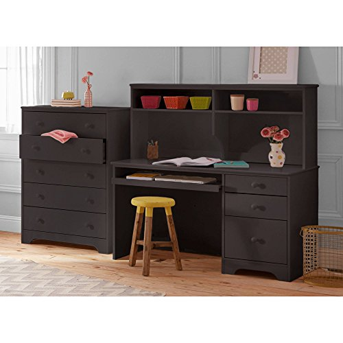 Kids Pine Creek Desk, Espresso by Better Homes & Gardens