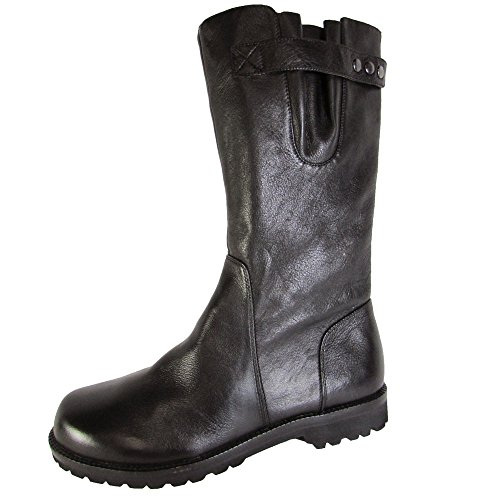 Gentle Souls Women's Walker Mid Calf Boot,Black Leather,US 9 M]()
