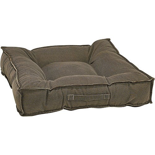 bowsers-piazza-dog-bed-medium-houndstooth