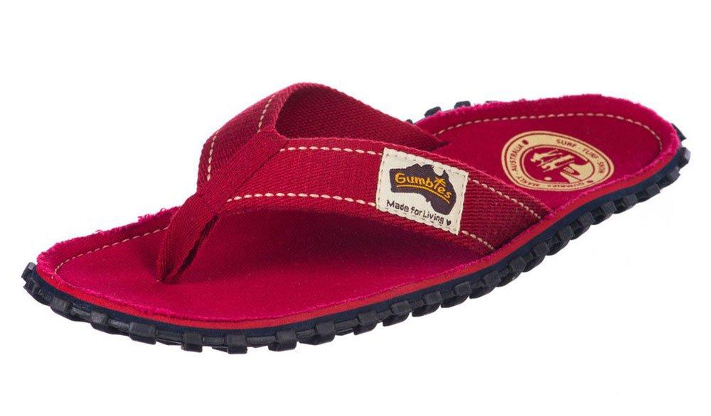 Gumbies Damen Zehentrenner - Rosa/Blau Schuhe in Uuml;bergrouml;szlig;en  38 EU|Red