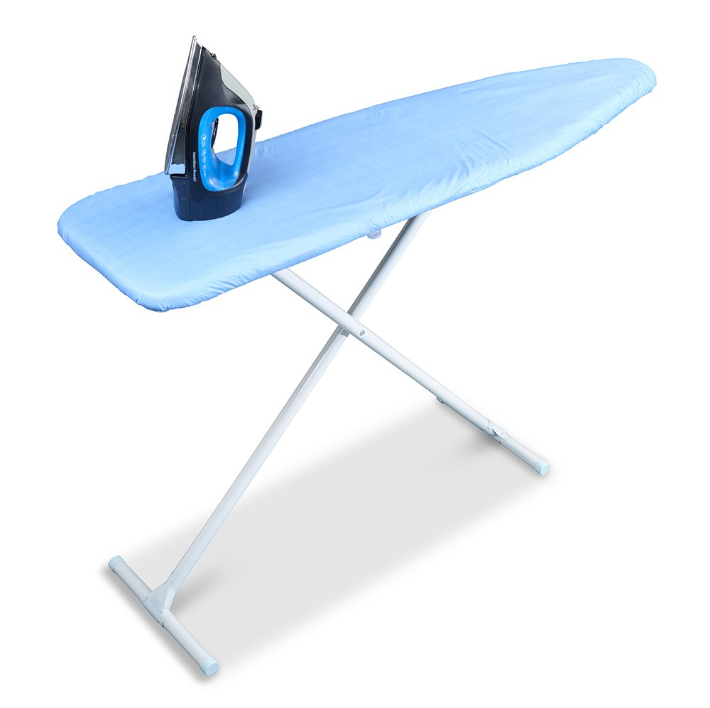 Sunbeam Scorch Resistant Solid Iron Ironing Board Cover 15'' x 54'' (Blue)