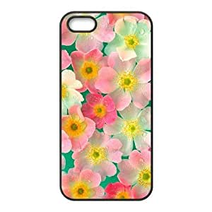Cool Painting Petals Custom Cover Case for Iphone 5,5S,diy phone case case517833
