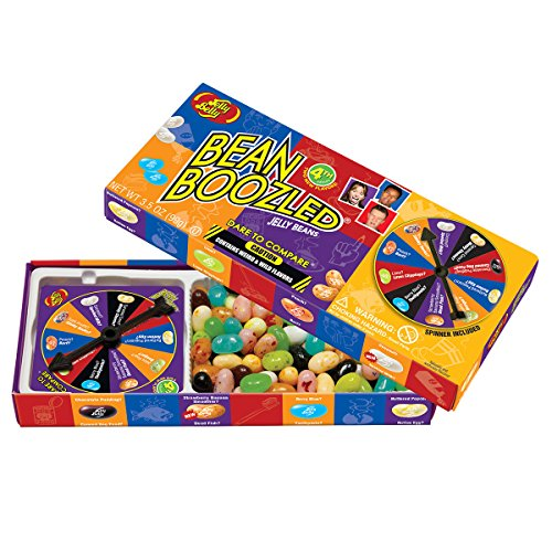 Review Jelly Belly 4th Edition Beanboozled Jelly Beans Spinner Gift Box, 3.5 oz