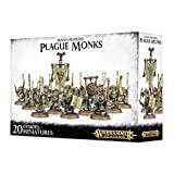 Warhammer 40K Age of Sigmar Skaven Pestilens Plague Monks by Games Workshop