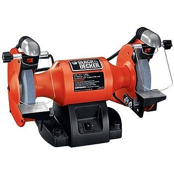 Black Amp Decker Bt3500 6 Inch Bench Grinder Power Bench