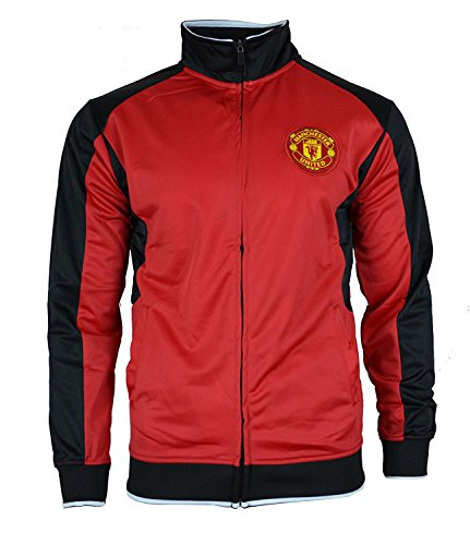 Kids Jackets of Real Madrid, Barcelona, Manchester, Chelsea, City, Liverpool, Arsenal (Youth Large 10-12 years, Manchester United)