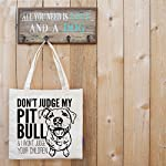 Don't Judge My Dog Tote Bag by Pet Studio Art 14