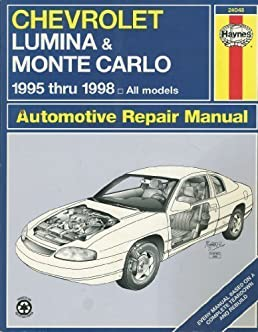 chevrolet lumina monte carlo automotive repair manual haynes rh amazon com 1994 Chevy Lumina 1996 chevy lumina service manual