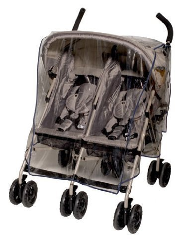 Jolly Jumper Weathershield Side Stroller