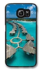 Bora Bora PC Case Cover for Samsung S6 and Samsung Galaxy S6 Black