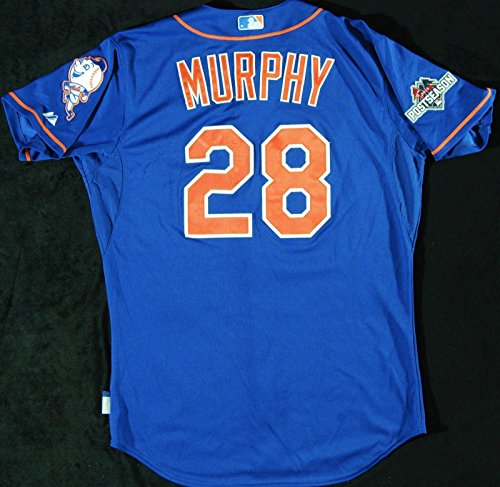 Historic Daniel Murphy 2015 NLCS Games 1&2 Game Used New York Mets Jersey (MVP)