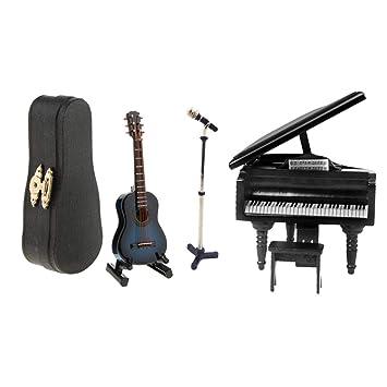 Amazon.es: KESOTO 3 Unids Guitarra Micrófono Instrumentos de Piano ...