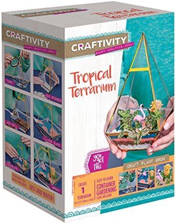 CRAFTIVITY Tropical Terrarium Kit – Craft Kits for Teens
