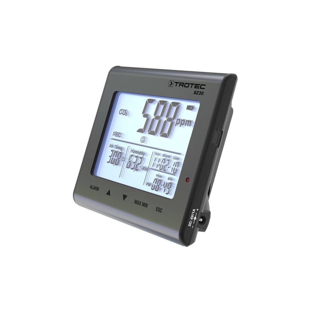 TROTEC Detector de calidad del aire BZ30 CO2