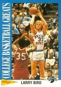 more photos 24120 e9cc3 Amazon.com: Larry Bird Basketball Card (Indiana State ...