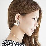 Alessi Aleesi MT12 Alisei Ear Pendants, Silver