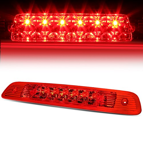 Highlander Rear Brake (Toyota Highlander XU20 Rear High Mount LED 3rd Brake Light (Red Lens))