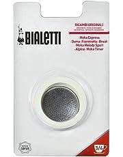 Bialetti 0800003Filtre à café 4pièces pour machine à café