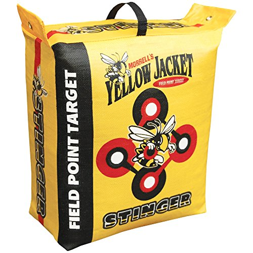 Morrell Yellow Jacket Stinger Field Point Bag Archery Target  - Great for Compound and Traditional Bows (Best Archery Block Target)