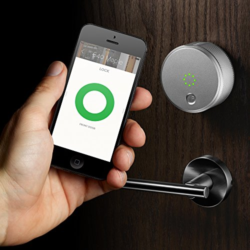 August Smart Lock - Keyless Home Entry with Your Smartphone, Champagne Photo #5