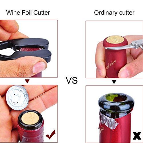 Wing Corkscrew Wine Opener Set Slepwel Stainless Steel Red