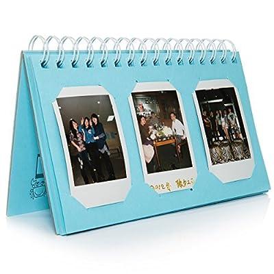 [Fuji Instax Mini Photo Album] - CAIUL Mini Album For Instax Mini 8 70 7s 25 50s 90 Film/ Pringo 231 Film/ Fujifilm Instax SP 1 Film/ Polaroid PIC-300P Film/ Polaroid Z2300 Film (TL-01,60 Photos) by Nodartisan