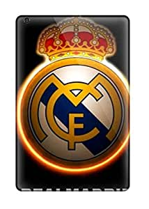 8530976I74680656 Excellent Ipad Mini Case Tpu Cover Back Skin Protector Real Madrid Fc Logo