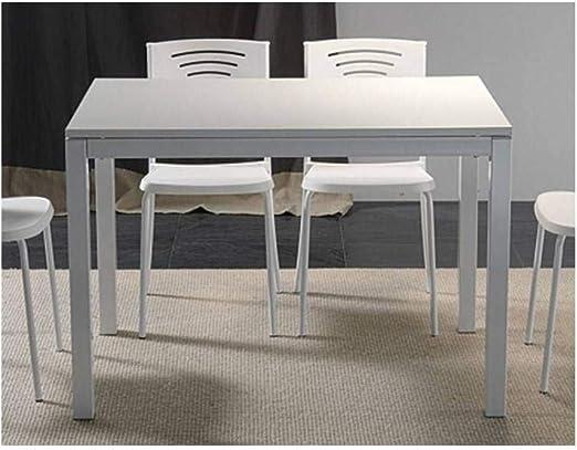 La Seggiola Mesa Comedor Extensible 130 x 80 cm Majestic Blanca ...