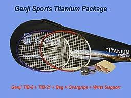 Genji Titanium Rackets Set
